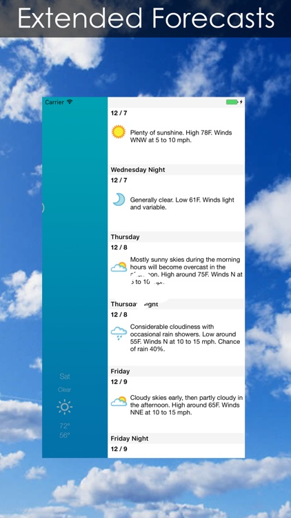 Weather Radar + Forecast screenshot-4