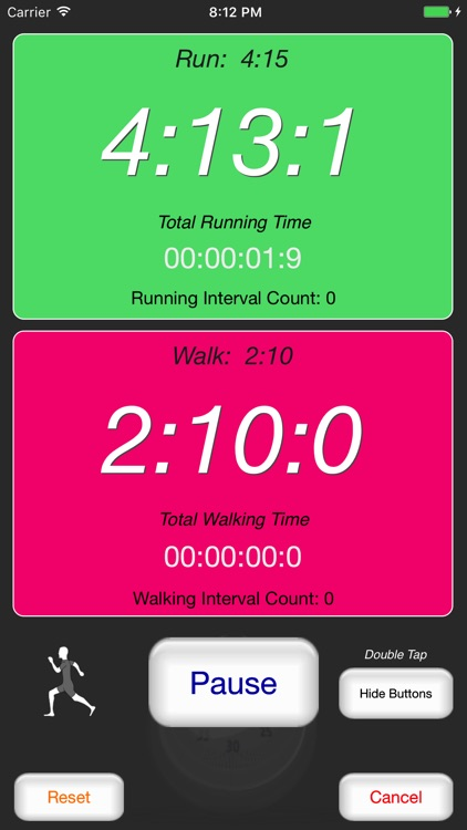 Runner's Interval Timer screenshot-2