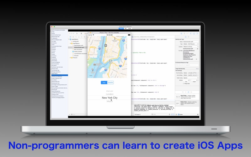 Tutorial For Xcode And Swift Programming Language review screenshots