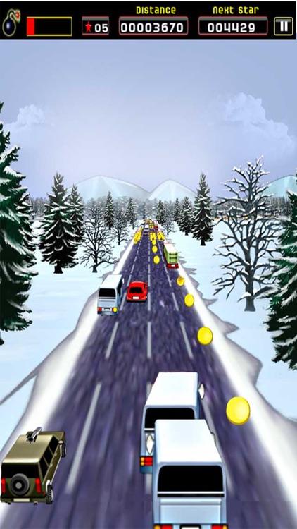 Sane Lane - Car Race, Time bomb screenshot-4