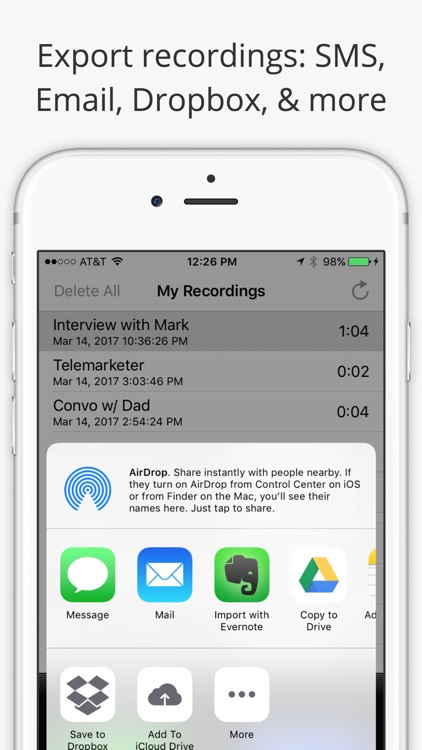 Call Recorder Lite - Record Phone Calls for iPhone