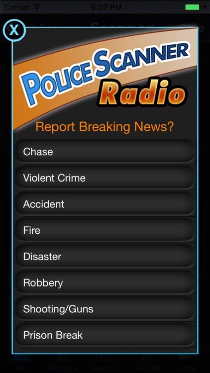 Police Scanner Radio screenshot-4