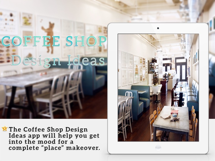 Coffee Shop & Restaurant Design Ideas For iPad