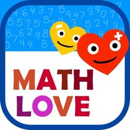 Math Love - Basic Math for 1st 2nd 3rd grade Kids