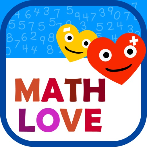 Math Love - Basic Math for 1st 2nd 3rd grade Kids iOS App
