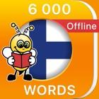 6000 Words - Learn Finnish Language & Vocabulary icon