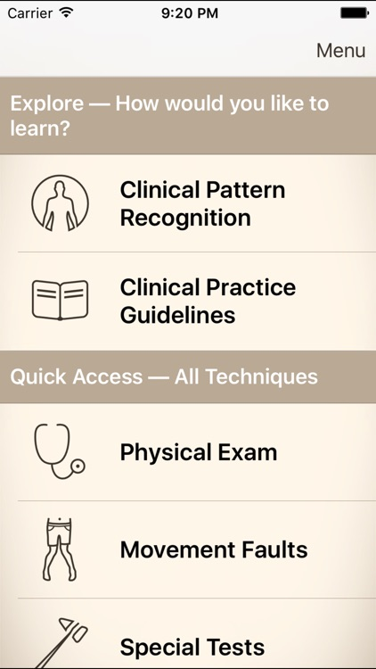 Clinical Pattern Recognition: Knee pain screenshot-0