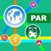 Paris シティマップス - ニューヨークを PAR を Metro, バスと旅行ガイドで発見しよ - iPhoneアプリ