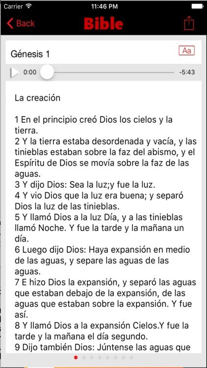 El libro de los salmos con la biblia reina valera screenshot-3