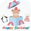 生日贺卡贴纸 - 照片编辑器