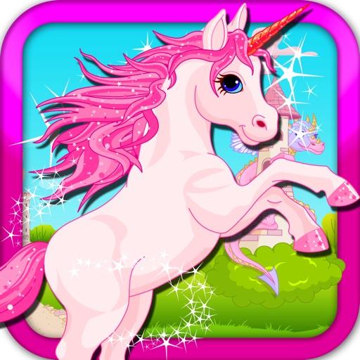 A Unicorn Fantasy FREE - сказочное королевство замок приключенческая игра