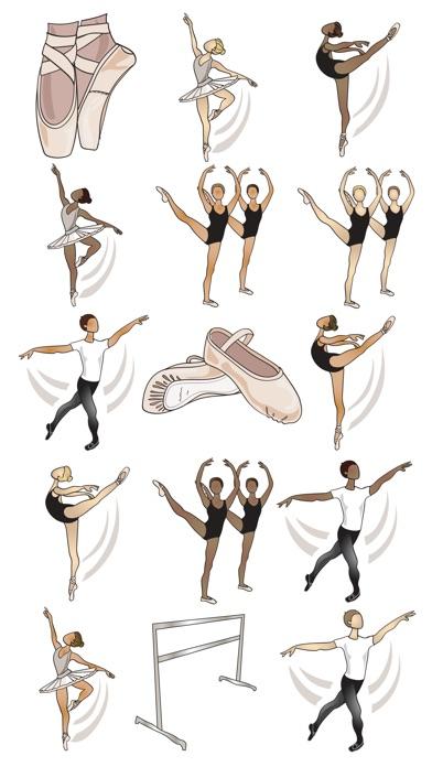 Ballett AufkleberScreenshot von 1