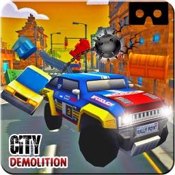 VR Monster Prado City Demolition : Drive Free-ly