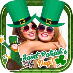 St. Patrick's Day photo editor – Frames & stickers
