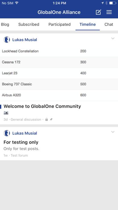 GlobalOne screenshot 3