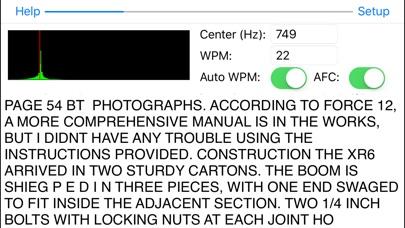 Morse Pad review screenshots