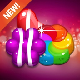 Candy Puzzle Adventure: Jelly Garden Crush & Match