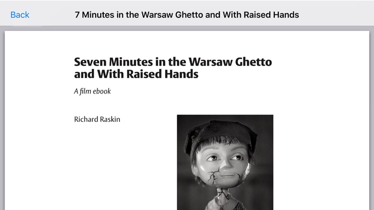 Seven Minutes in the Warsaw Ghetto screenshot-4