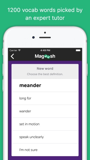 Vocabulary builder by magoosh on the app store screenshots fandeluxe Image collections