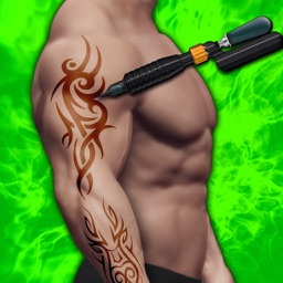Tattoo Design 3D : Tattoo Artist Salon Game