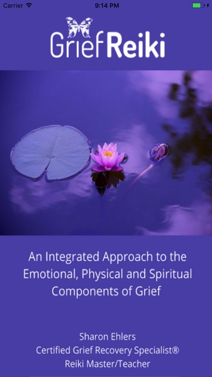 Grief Reiki® Oracle Cards App screenshot-0