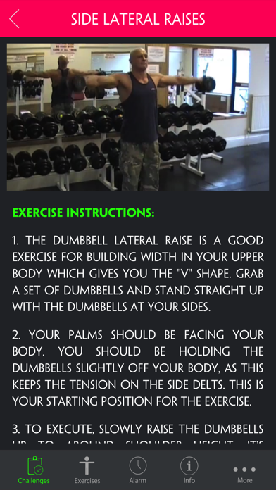 Ultimate Workout to Develop a Dramatic V Taper Pro screenshot two