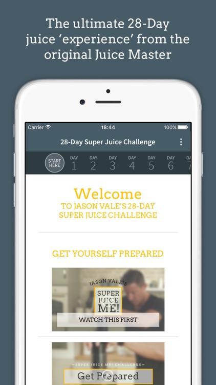 Jason Vale's Super Juice Me! Challenge