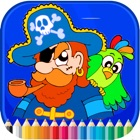 Pirate Coloring Book - Activities for Kids icon