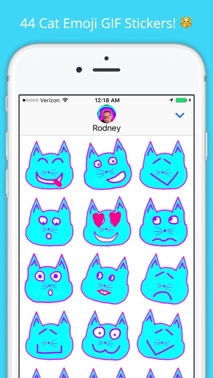 Emoji Kitty - Animated Cat Emojis Stickers