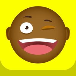 EMOJI BOSS - Black African American Stickers