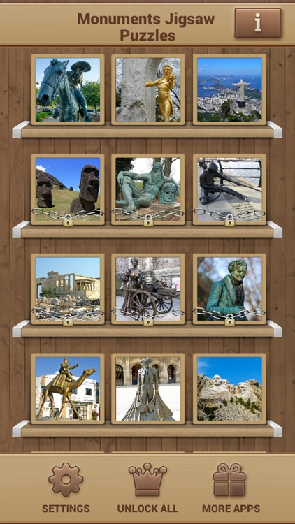 Monuments Jigsaw Puzzles screenshot-1