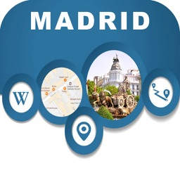 Madrid Spain City Offline Map Navigation EGATE