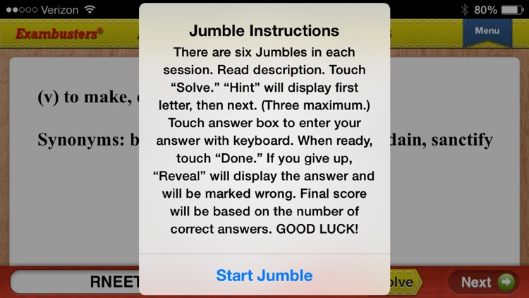 ASVAB Prep Verbal Flashcards Exambusters screenshot-4