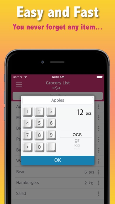 grocery list by voice app price drops