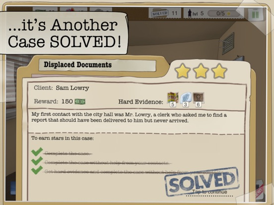 Игра Another Case Solved