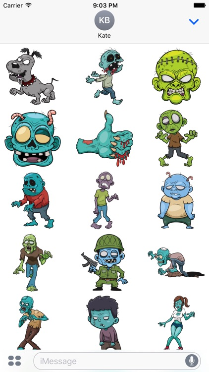 Zombistickers screenshot-0
