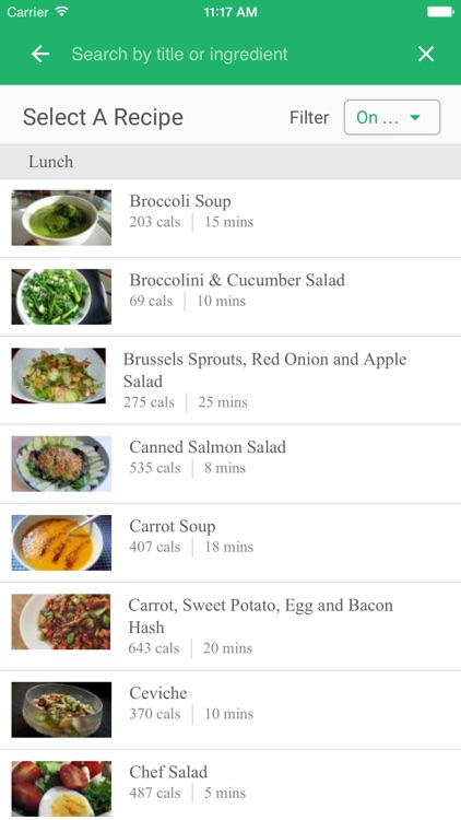 Vegetarian Meal Plans - Healthy Plant Based Meals app image