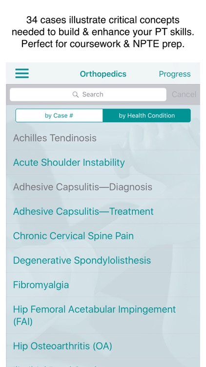 Orthopaedics Physical Therapy
