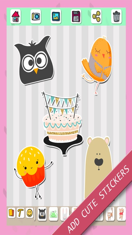 Happy birthday greeting cards & stickers – Pro screenshot-4
