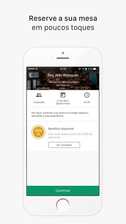 Get In - Reservas e Fila de Espera em Restaurantes screenshot-3