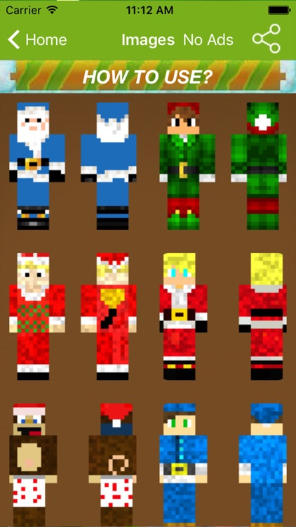 Santa Claus Skins For Minecraft Pocket Edition PC by fatna chaib