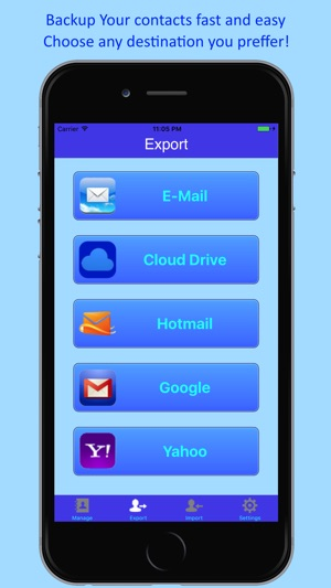 1 2 3 Contacts Backup & Merge