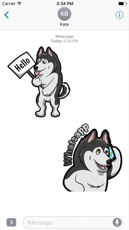 Huskymoji - Husky Emoji & Stickers