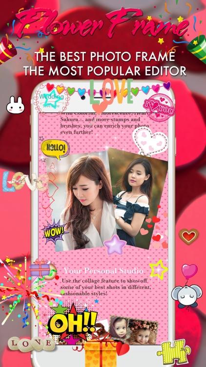 Women Day Photo Frame -Wonder Photo,Camera sticker screenshot-3