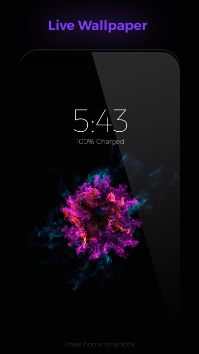 Ink Lite - Live WallpaperScreenshot von 1
