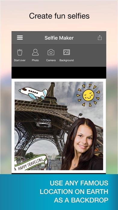 点击获取Selfie Maker - fake location with landmark photos