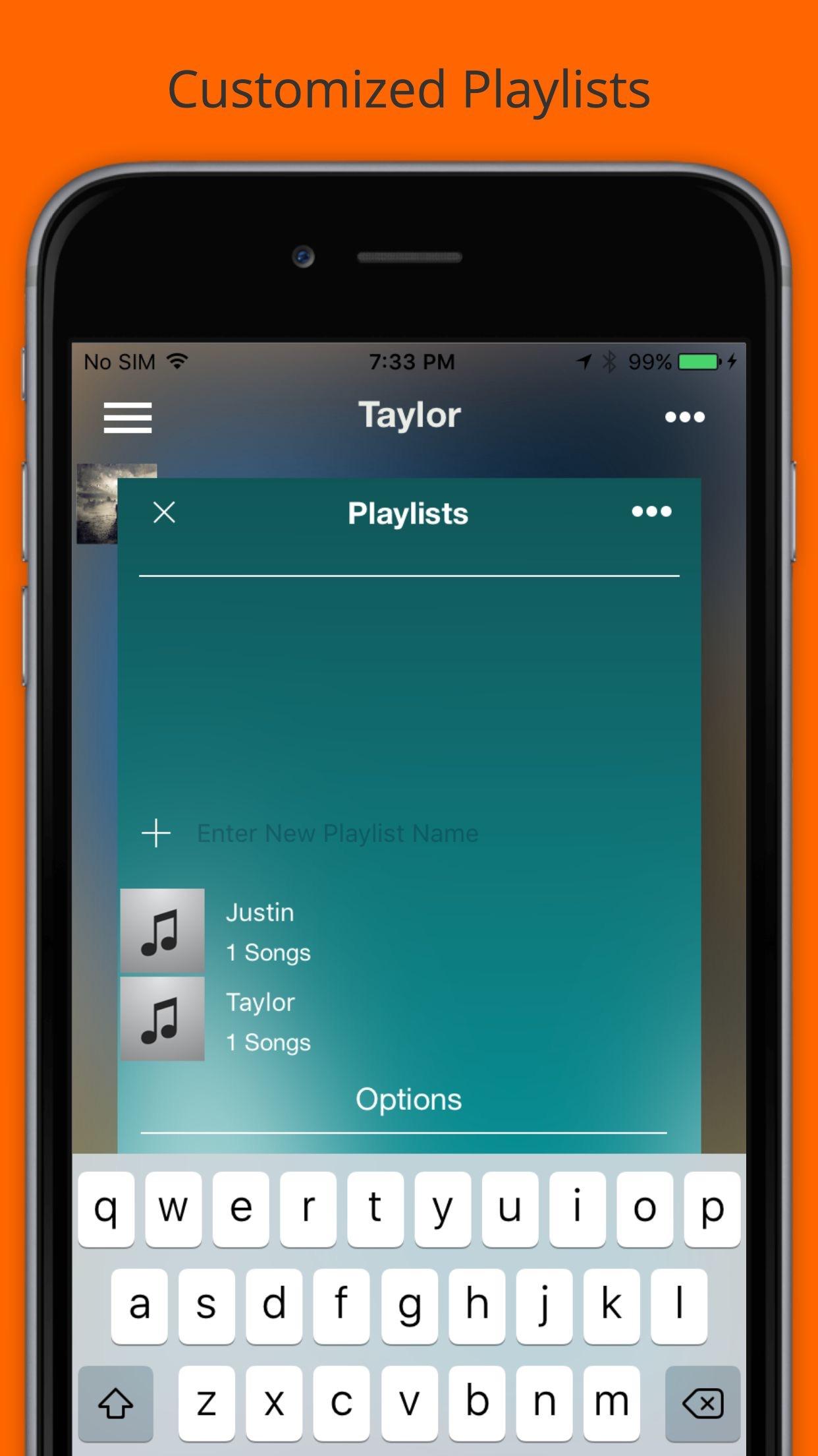 Music. Play. - Unlimited Mp3 Streamer & Player Screenshot