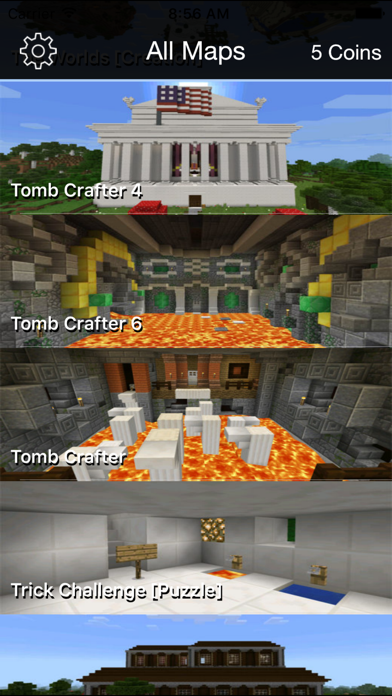 Best Maps for Minecraft PE - One Touch Install - App - Apps Store