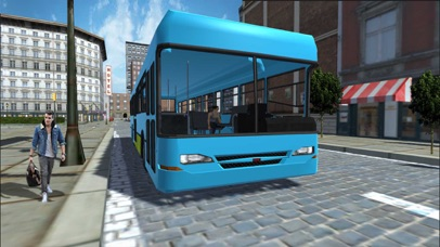 Public Bus Transport Simulation: Driving in City screenshot four