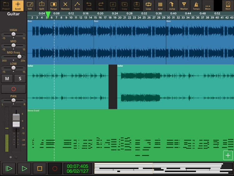 Audio Evolution Mobile Studio screenshot-0